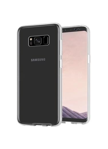 Microsonic Samsung Galaxy S8 Plus Kılıf 6 tarafı tam full koruma 360 Clear Soft  Renksiz